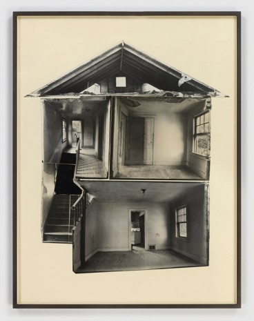 Gordon Matta-Clark, Splitting, 1974 , David Zwirner