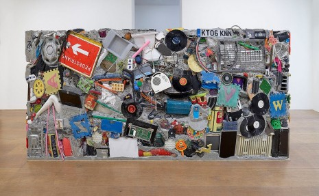 Gordon Matta-Clark, Garbage Wall, 1970 , David Zwirner