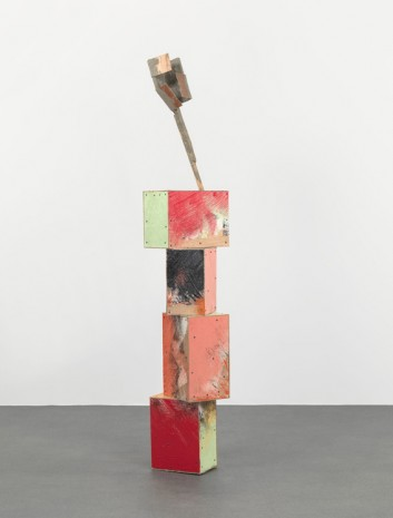 Phyllida Barlow, untitled: folded hoarding; 2018, 2018 , Hauser & Wirth