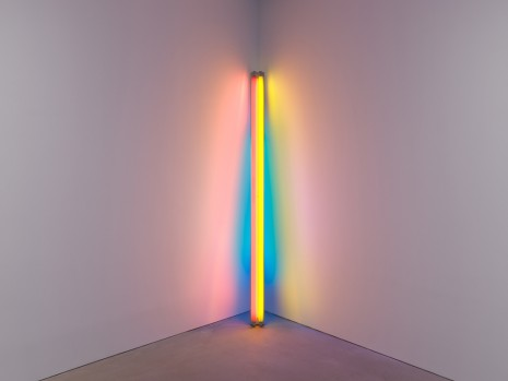 Dan Flavin, untitled (to the real Dan Hill) 1a, 1978 , David Zwirner