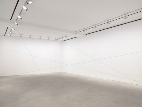 Fred Sandback, Untitled (Sculptural Study, Four-part Mikado Construction), c. 1991/2011 , David Zwirner