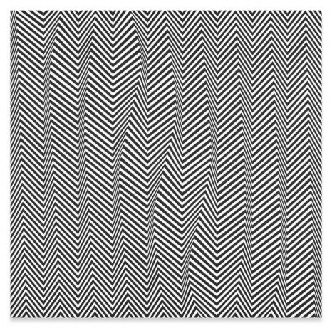 Bridget Riley, Descending, 1965 , Sprüth Magers