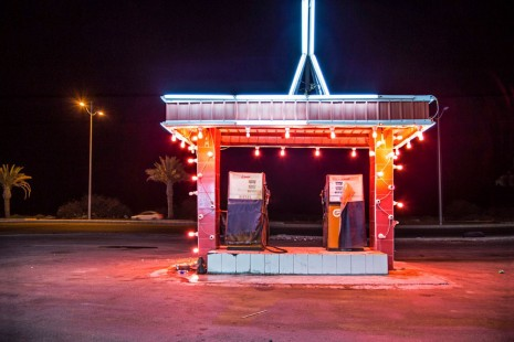 Ahmed Mater, Gas Station Leadlight, 2013, Galleria Continua