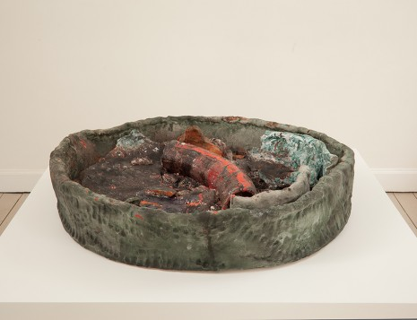Sterling Ruby, Basin Theology/Spectrum Bone Ash, 2011, Gladstone Gallery