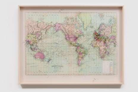 Spencer Finch, In lands I never saw (places in E. D. poems), 2018, James Cohan Gallery