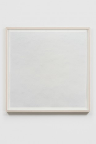 Spencer Finch, The Impossibility of White (snow), 2018 , James Cohan Gallery