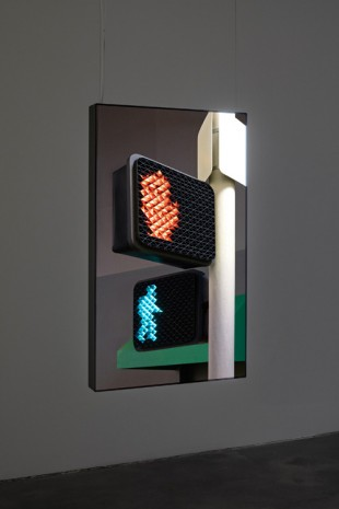 Thomas Demand, Ampel / Stoplight, 2016 , Sprüth Magers