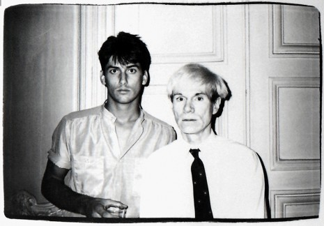 Andy Warhol, Andy Warhol and a male model, n.d.