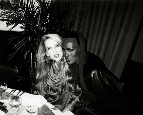 Andy Warhol, Jerry Hall & Grace Jones, 1985, Hollis Taggart