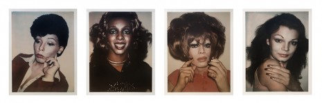 Andy Warhol, Ladies & Gentlemen (set of 4), 1974, Hollis Taggart
