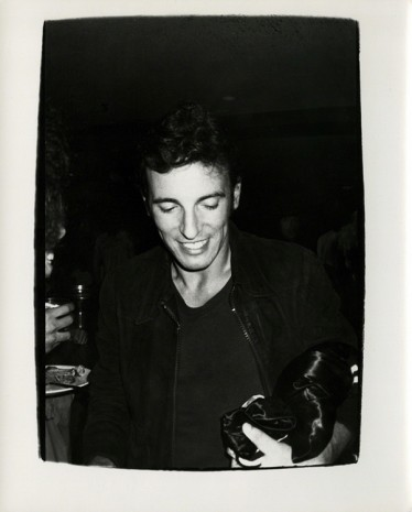 Andy Warhol, Bruce Springsteen, 1978, Hollis Taggart