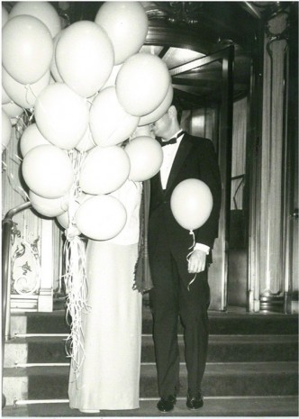 Andy Warhol, Couple with Balloons at The Plaza Hotel, New York City, circa 1979