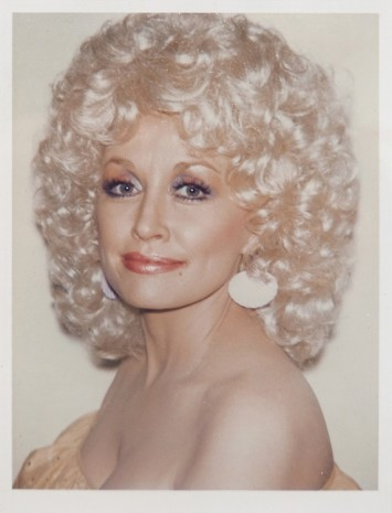 Andy Warhol, Dolly Parton, 1985, Hollis Taggart