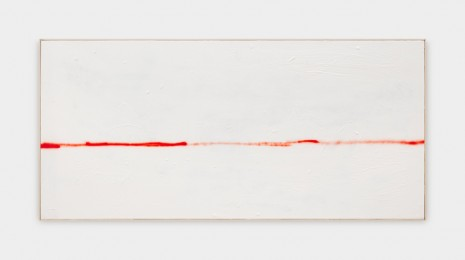 David Ostrowski, F (The thin red line), 2018 , Sprüth Magers