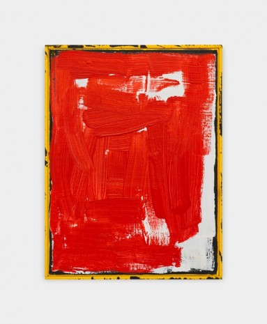 David Ostrowski, F (red), 2018 , Sprüth Magers