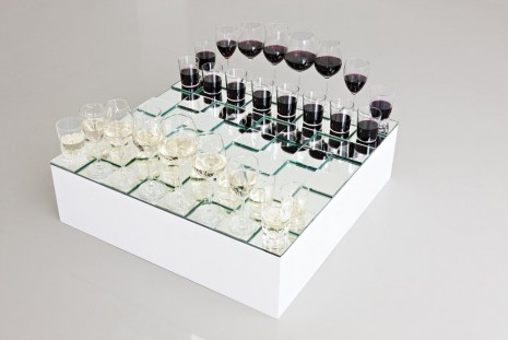 Anders Nordby, Wine Glass Chess Set (Replica), 2012, STANDARD (OSLO)