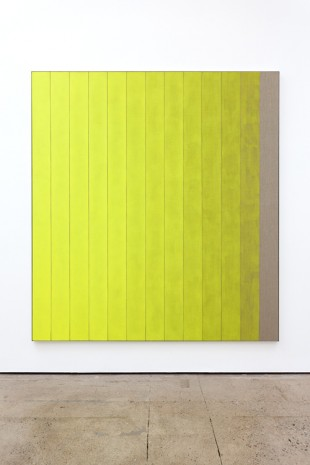 Michael Wilkinson, 13 Stripes Yellow, 2018 , The Modern Institute