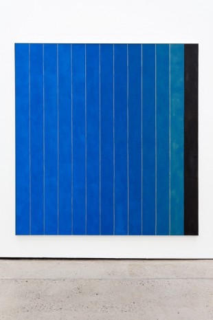 Michael Wilkinson, 13 Stripes Blue, 2018 , The Modern Institute