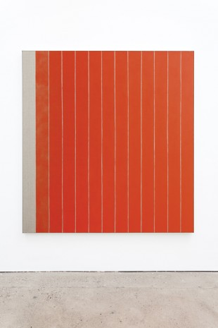 Michael Wilkinson, 13 Stripes Red, 2018 , The Modern Institute