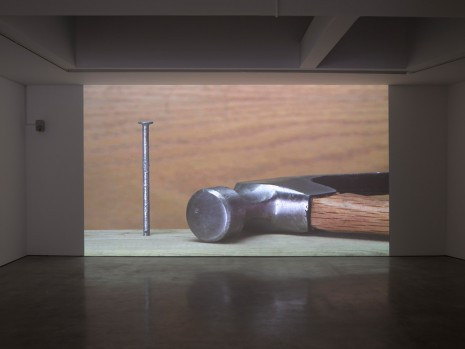 Ceal Floyer, Hammer and Nail, 2018 , Lisson Gallery