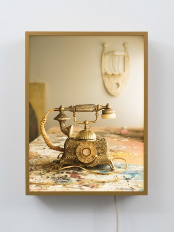 Rodney Graham, Unused Prop: French Telephone, 2018 , 303 Gallery