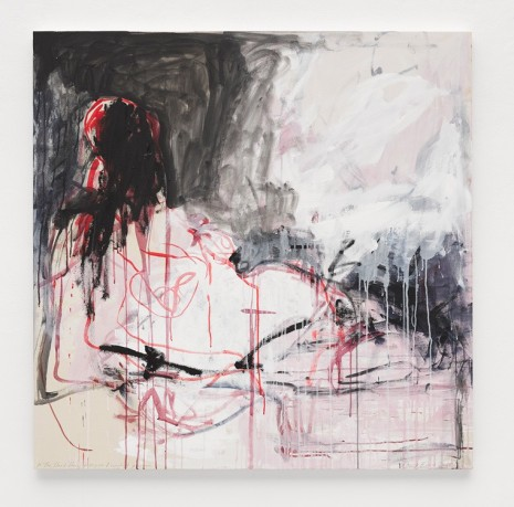 Tracey Emin, In The Dead Dark of night I wanted you, 2018 , White Cube