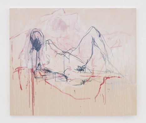 Tracey Emin, I made you happen, 2018 , White Cube