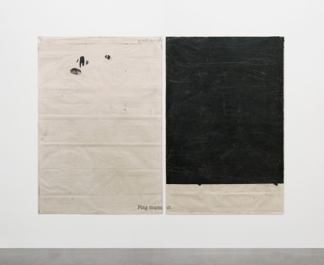 Ian Kiaer, Endnote, ping (murmer/black), 2018 , Alison Jacques Gallery