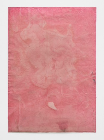 Ian Kiaer, Endnote, ping (pink), 2018 , Alison Jacques Gallery