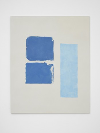 Peter Joseph, Two Blues and Light Blue, 2017, Lisson Gallery