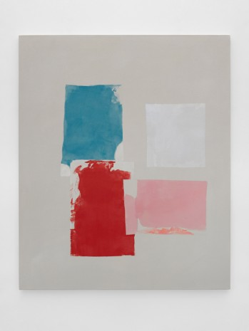 Peter Joseph, Blue, Red, Pinks and Light Grey, October 2017, 2017, Lisson Gallery