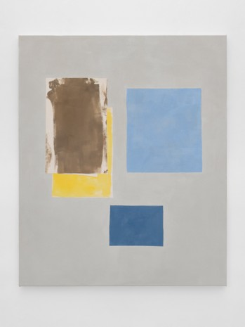 Peter Joseph, Brown, Yellow & Two Blues, 2018