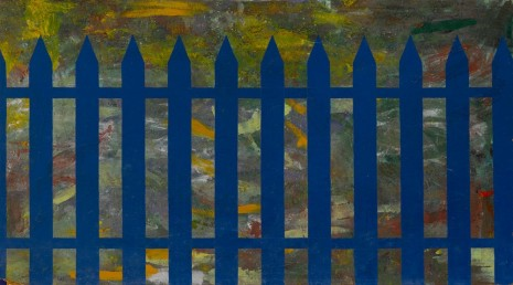 Per Kirkeby, Stakit / Fence, 1965-1966 , Victoria Miro Gallery