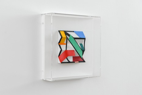 Tom Wesselmann, Maquette for Three Step II, 2002, Almine Rech