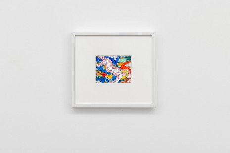 Tom Wesselmann, Study for Sunset Nude Floral Blanket, 2002 , Almine Rech