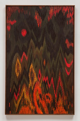 Lee Mullican, The Diamond Mountains, 1963 , James Cohan Gallery