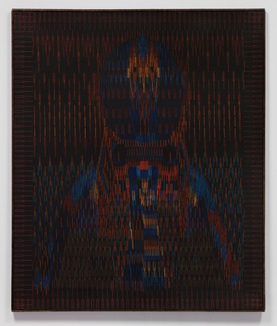 Lee Mullican, Kachina Guardian, 1978 , James Cohan Gallery