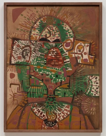 Lee Mullican, Portrait in Answer, 1948 , James Cohan Gallery