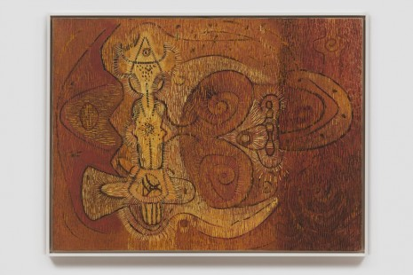 Lee Mullican, Actor in Overture, 1949 , James Cohan Gallery