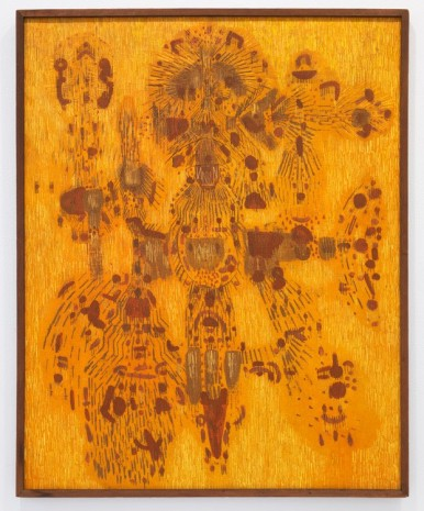 Lee Mullican, Wake, 1949 , James Cohan Gallery