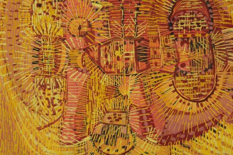 Lee Mullican, Section Implanted, 1948 , James Cohan Gallery