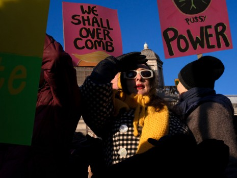 Hannah Starkey, 'Pussy power', Women's March, London 2017, 2017, Tanya Bonakdar Gallery