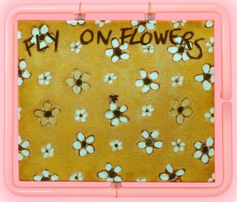 Philippe Mayaux, Fly on Flowers, 1990 , Loevenbruck