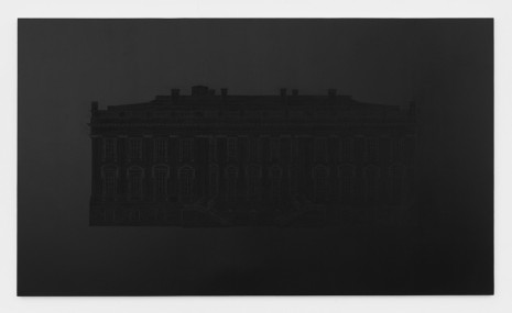 Paul Stephen Benjamin, Paint the White House Totally Black, 2017 , Marianne Boesky Gallery