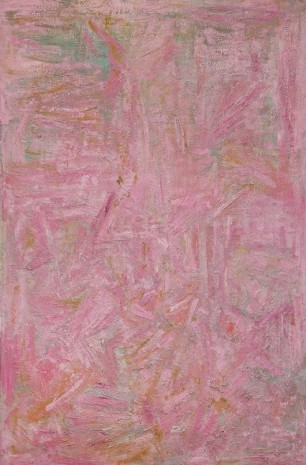 Ben Isquith, Pink Painting, 1953