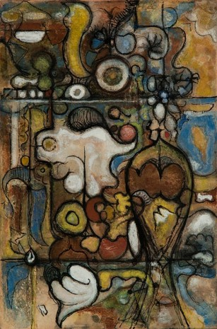 Richard Pousette-Dart, Untitled, circa 1945