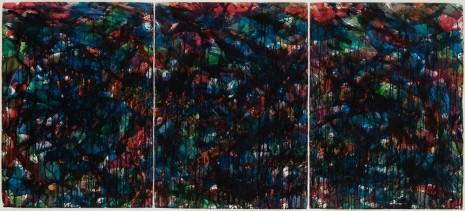 Norman Bluhm, Stained Glass Landscape #9, 1957