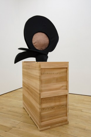 Annie Ratti, Black Bird's Hat, 2018, Amanda Wilkinson