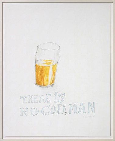 Ragnar Kjartansson, There is no God, Man, 2008, Galleri Bo Bjerggaard