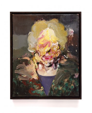 Adrian Ghenie, Pie Fight Study, 2013 , Tim Van Laere Gallery
